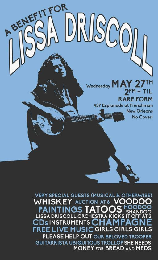 Poster for Benefit for Washboard Lissa