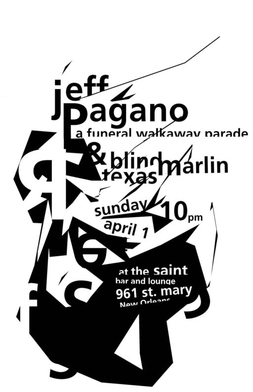 Poster for Concert at The Saint