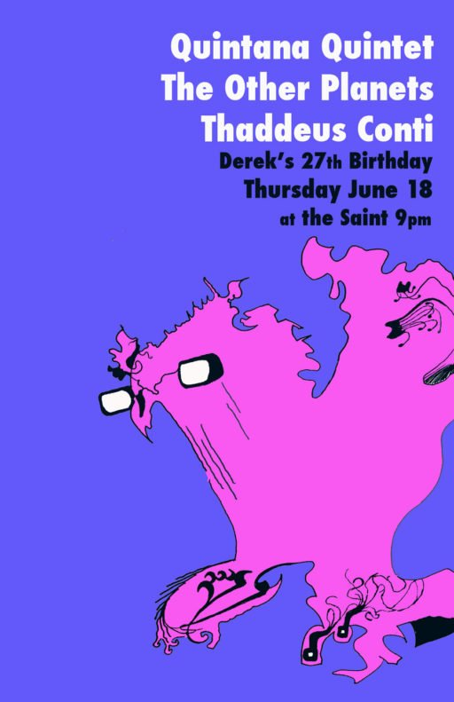 Concert Poster for the Saint 2
