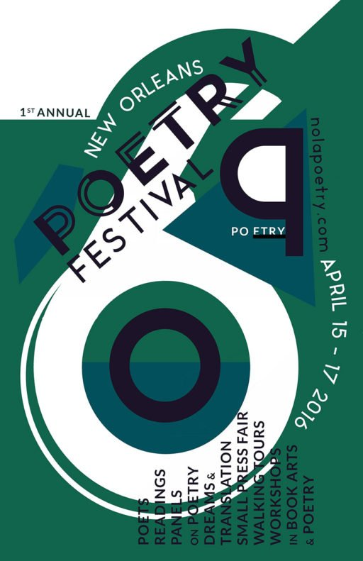 New Orleans Poetry Festival Poster 2016