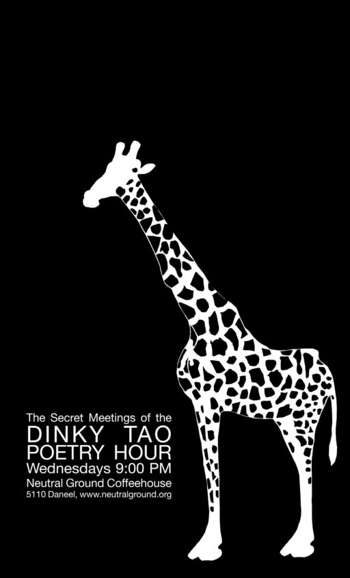 Dinky Tao Poetry Hour Poster